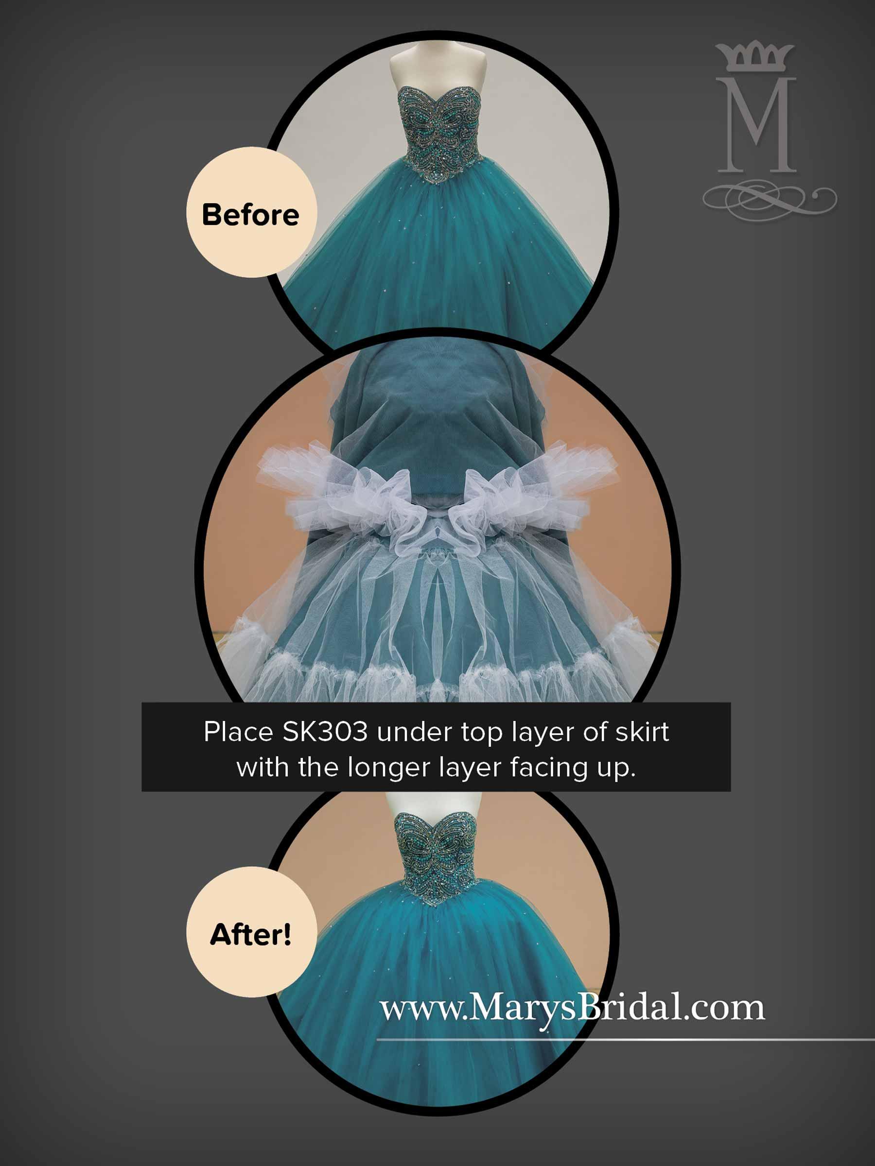 Bridal Petticoats | Petticoats | Style - SK303
