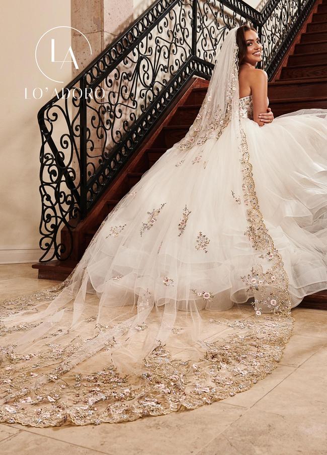 Color Lo Adoro Bridal Dresses - Style - V100