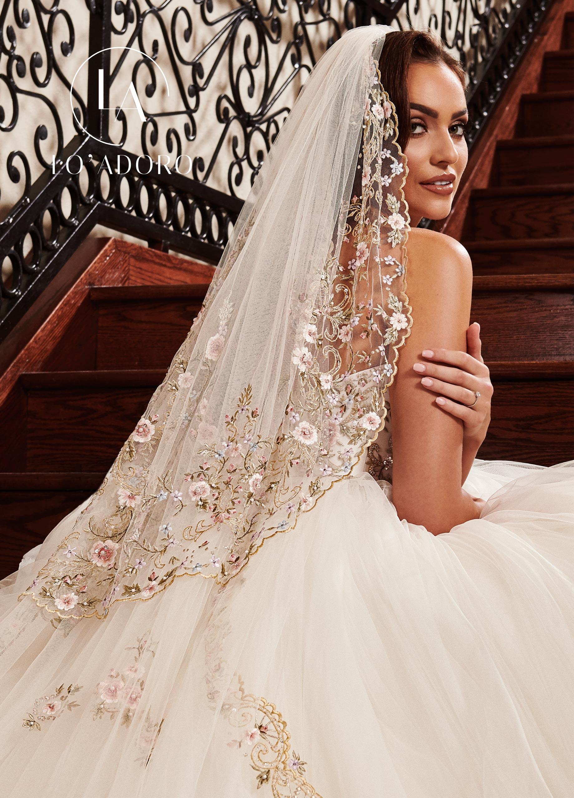 Lo Adoro Bridal Dresses | Lo' Adoro | Style - V100