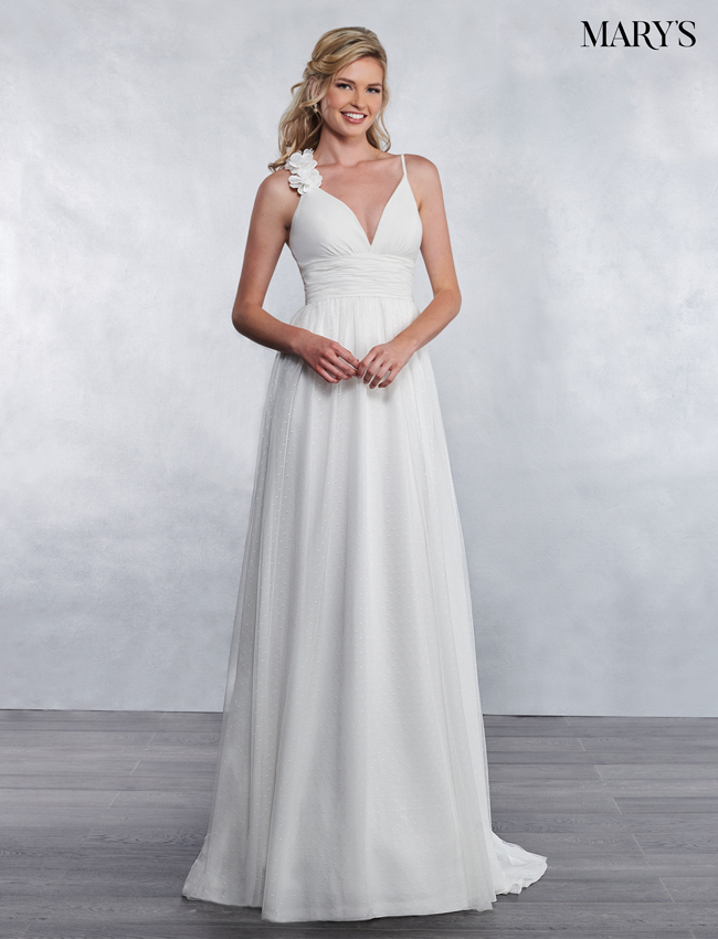 Ivory Color Bridal Wedding Dresses - Style - MB1031