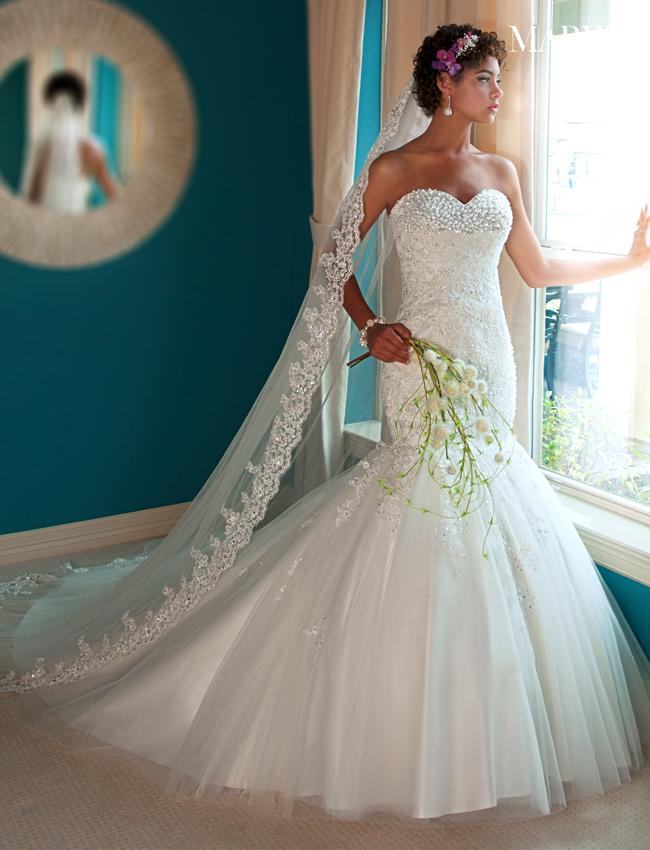 Color Bridal Veils - Style - V803