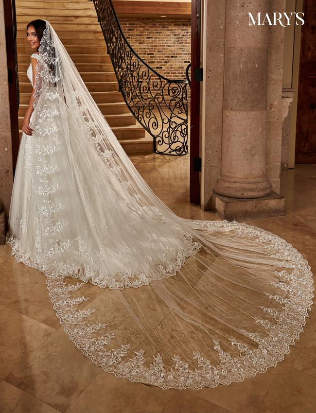 Color Bridal Veils - Style - V810