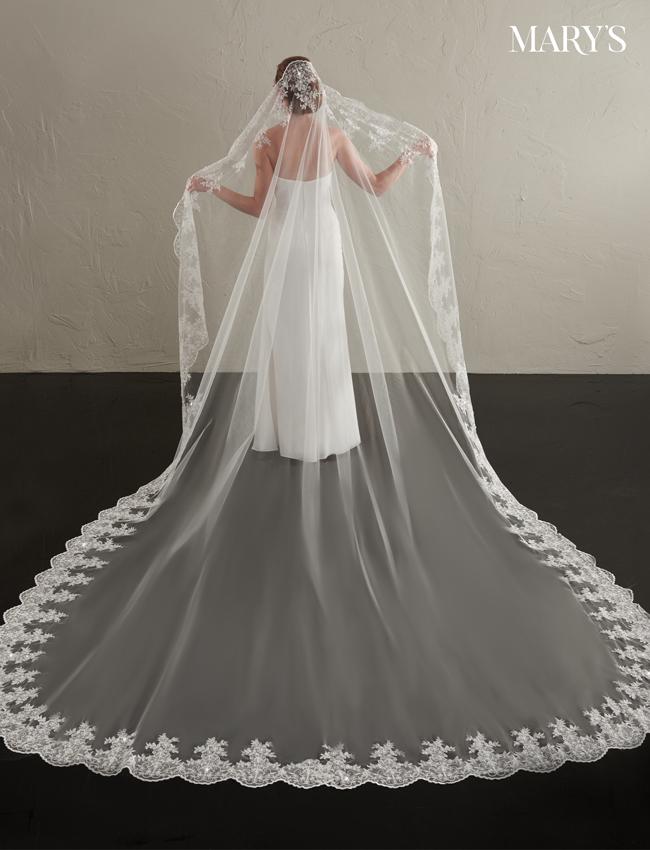 Color Bridal Veils - Style - V815